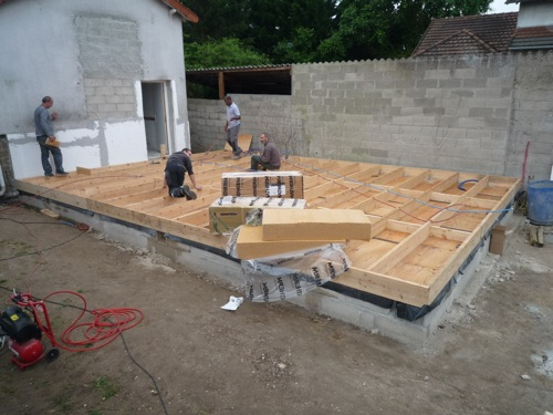 construction bois sans fondation