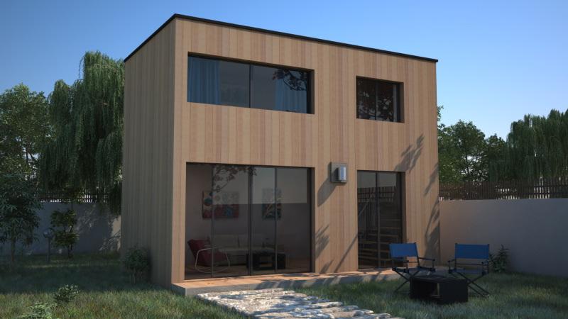 Extensiion de maison avec tage en ossature bois - Studio de jardin prix ...