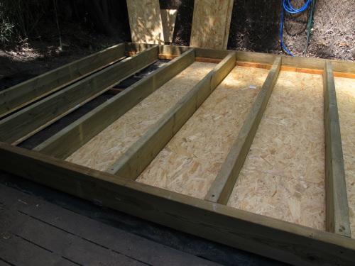 D tails de construction d 39 un studio de jardin de qualit - Construction studio dans jardin ...