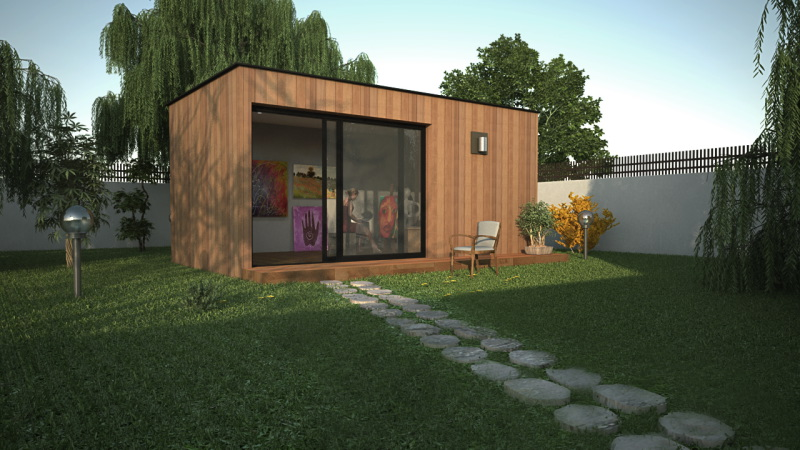 Extension maison pour grands parents