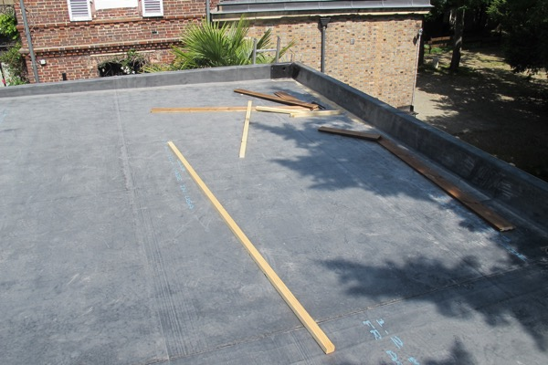 Extension en bois EPDM