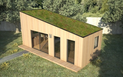 Module maison bois ventana blog for Module extension bois