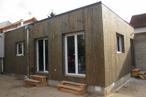Extension en bois 78