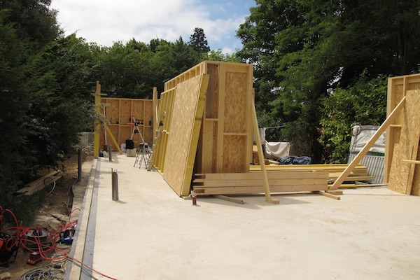 Extension de 100 m2 en bois