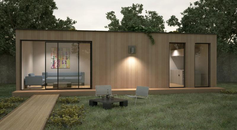 extension de maison en bois. Black Bedroom Furniture Sets. Home Design Ideas
