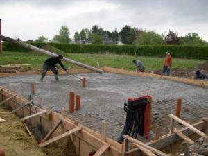 Fondation des maisons en bois for Construction en bois ou beton