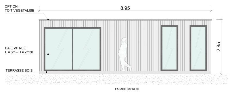 Top extension de maison en bois XJ13