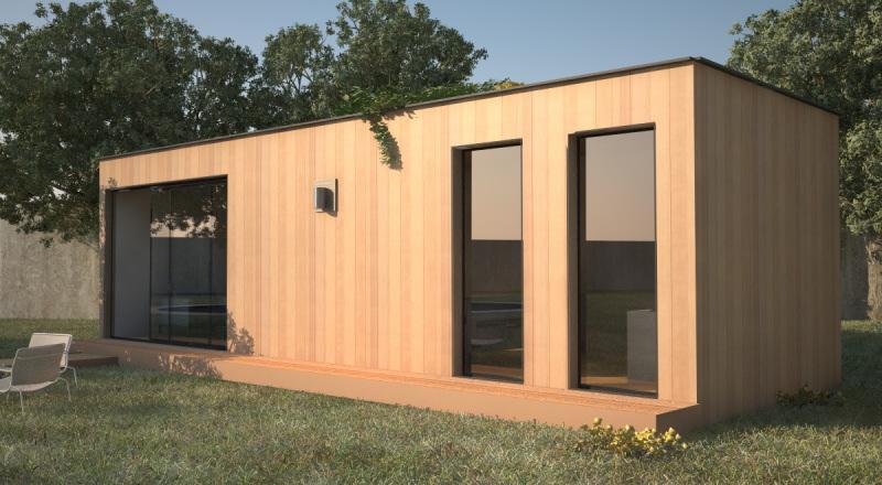 Extension de maison en bois - Maison algeco prix ...