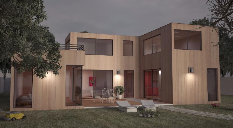 construction de maison en bois yvelines