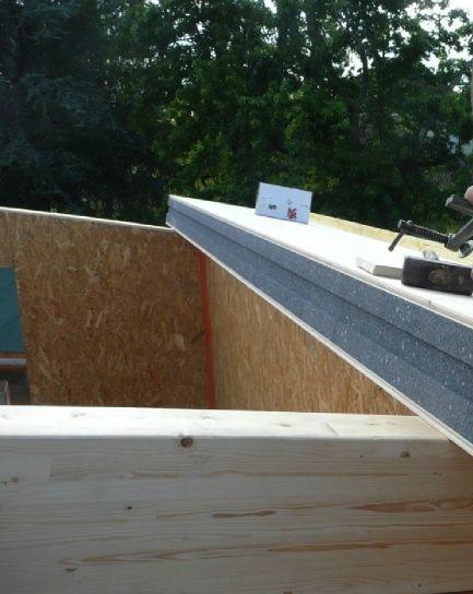 Loft de jardin avec toit bien isol - Isolation toit cabane jardin perpignan ...