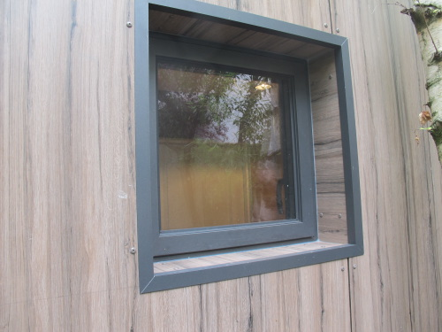 Bardage extension en bois