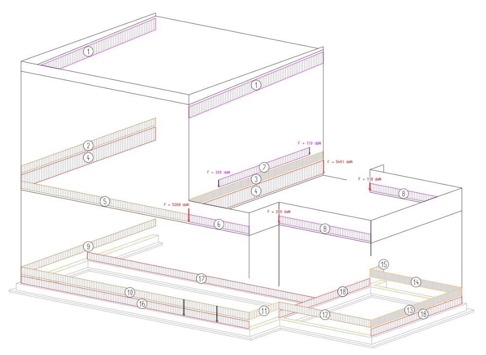 descentes de charges pour une maison en ossature bois. Black Bedroom Furniture Sets. Home Design Ideas