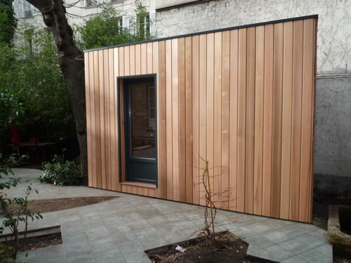 Extension en bois