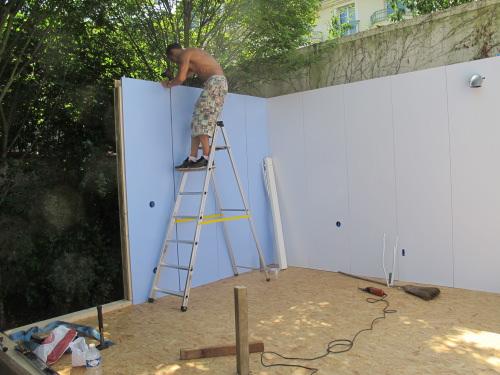 Construire un studio de jardin - Construction studio dans jardin ...