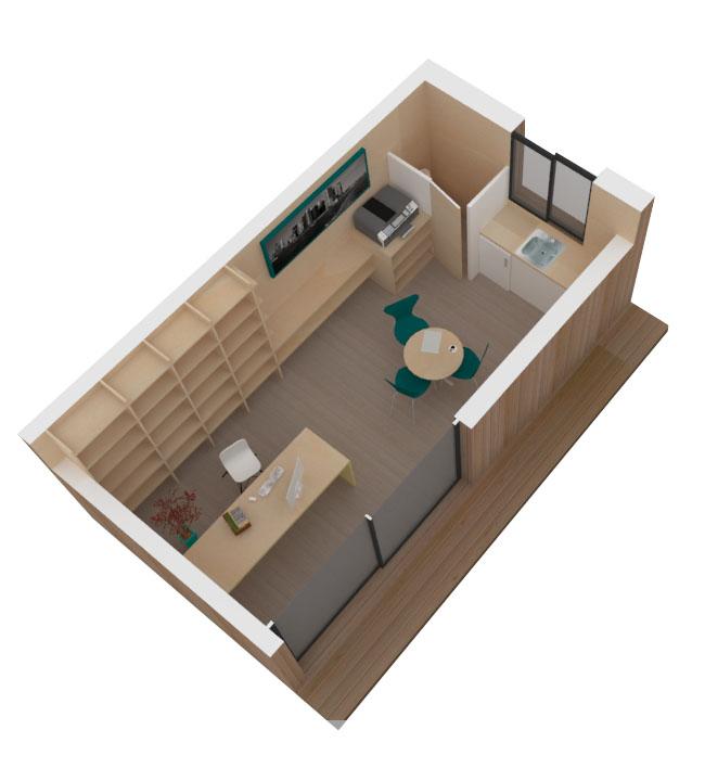 bureau de jardin. Black Bedroom Furniture Sets. Home Design Ideas