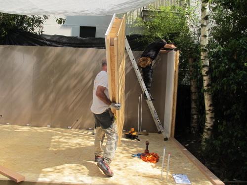 Avantages de la pr fabrication d 39 une extension en bois - Extension prefabriquee ...