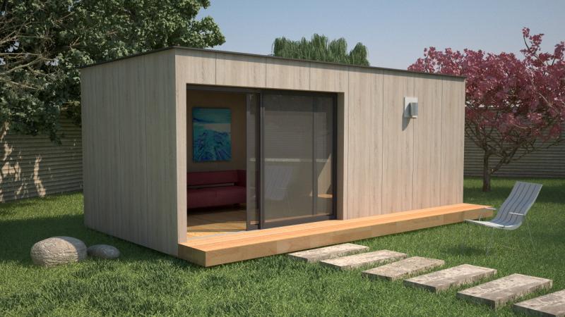 Studio de jardin abri de jardin isol for Bureau de jardin prix
