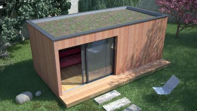 studios dans le jardin. Black Bedroom Furniture Sets. Home Design Ideas