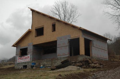 maisons et chalets en construction bois avec batipack With marvelous maison en pente forte 2 maisons et chalets en construction bois avec batipack
