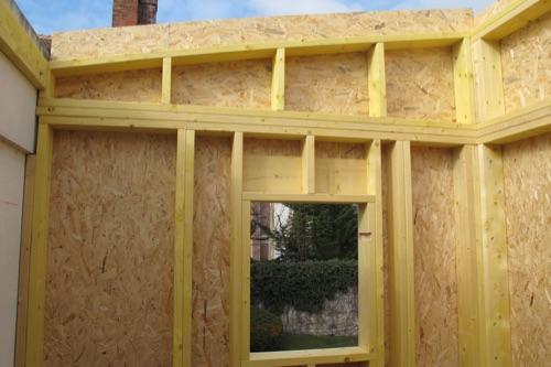 Construction de maisons bois selon le procédé MOB # Bois Pour Ossature Bois